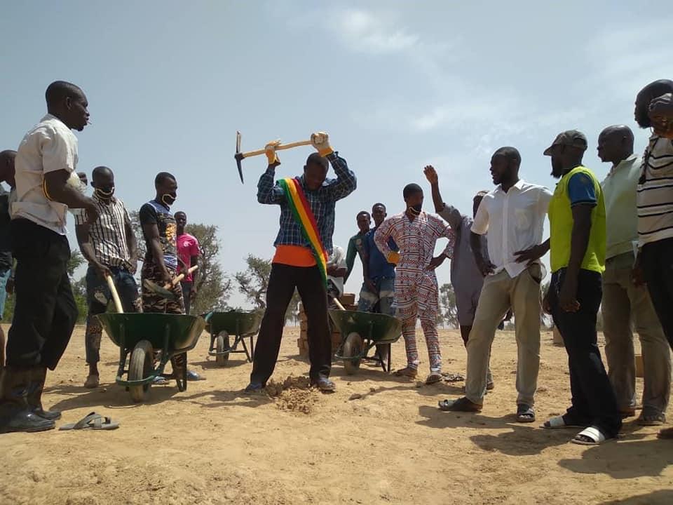 Ségou – Lancement des Travaux à haute intensité de main d'oeuvre (THIMO) dans les villages de Pogo et de Sogoli